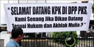 PKS menyambut KPK